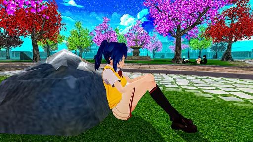 Anime High School Life Days Yandere Girl Simulator screenshots 7