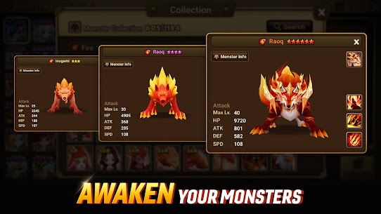 Summoners War Mod Apk (Unlimited Money, Crystals, Everything Free) 3