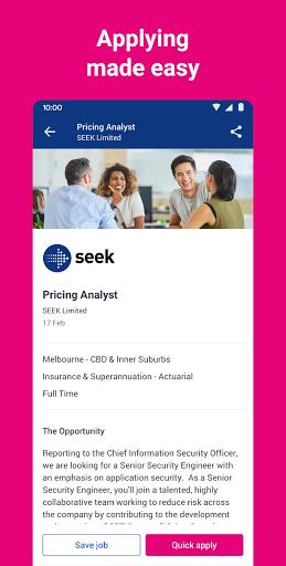 SEEK Job Search apktram screenshots 2