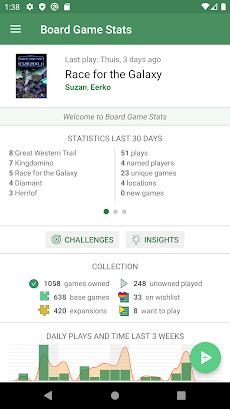 Board Game Stats: Track game collection and playsのおすすめ画像1