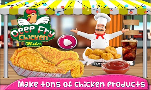 Deep Fry Chicken Cooking For Pc – Free Download In Windows 7/8/10 & Mac 1
