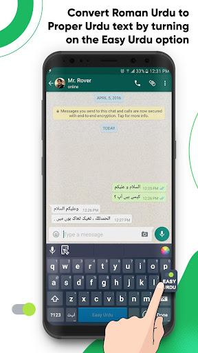 Easy Urdu Keyboard 2021 - u0627u0631u062fu0648 - Urdu on Photos 4.7 Screenshots 3