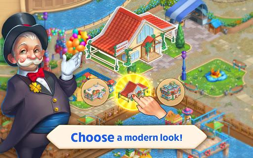 Matchland - Build your Theme Park  screenshots 20