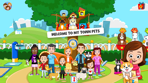 My Town : Pets, Animal game for kids android2mod screenshots 6