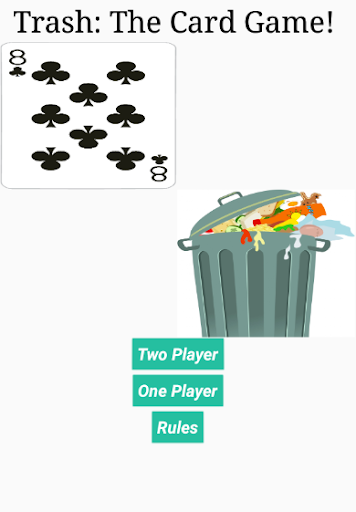 trash card game screenshot 1