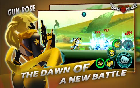 Zombie Avengers Stickman War Z v2.4.9 MOD APK 3