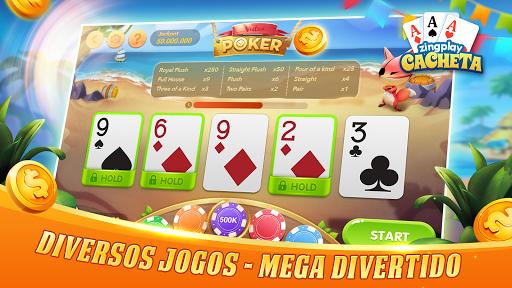 Cacheta ZingPlay: Jogo de cartas online gru00e1tis 1.1 screenshots 4