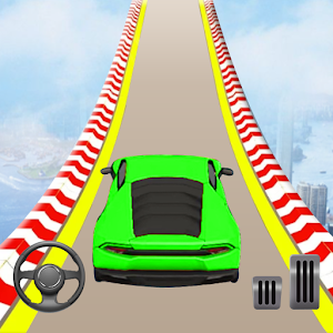 Mega Ramp Car Stunts: Crazy Car Racing Game