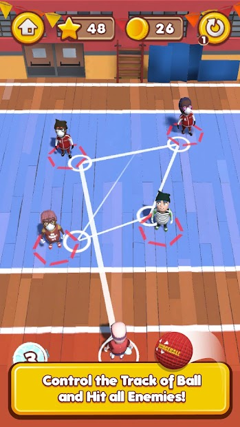 Dodgeball Master 3D