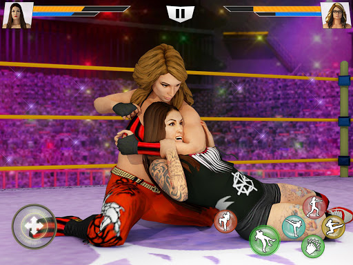 Bad Girls Wrestling Rumble: Women Fighting Games apkdebit screenshots 11