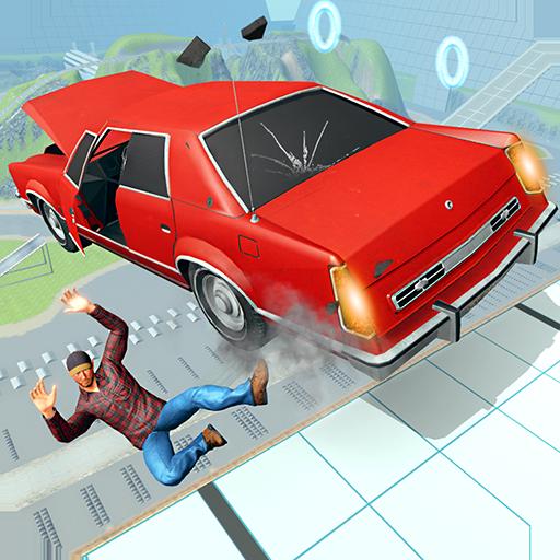 Simulador de acidente de carro: sinta as colisões