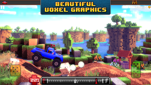 Blocky Roads 1.3.7 screenshots 14