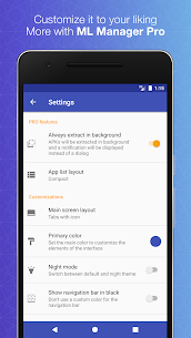 ML Manager Pro Apk: APK Extractor (Paid/Patched) 8