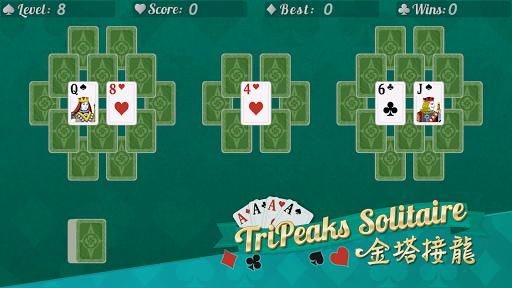 Tripeaks Solitaire: Card and Fun  screenshots 4