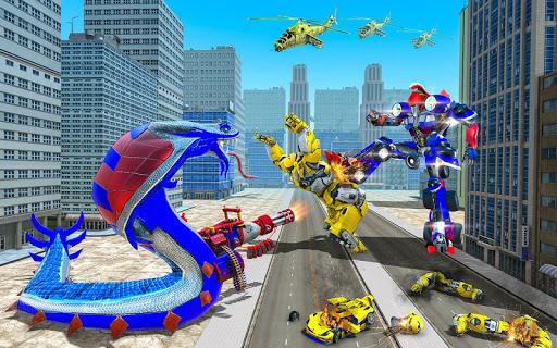 US Police Snake Robot Transform Shooting Game 1.14 screenshots 8