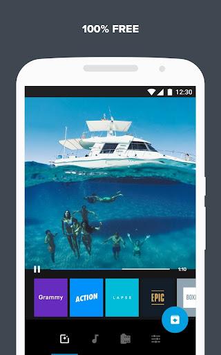 Quik u2013 Free Video Editor for photos, clips, music 5.0.7.4057-000c9d4b4 Screenshots 5