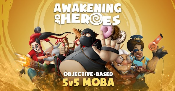 Awakening of Heroes: MOBA 5v5 Screenshot