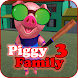 Piggy Family 3 : Scary Neighbor Obby House Escape