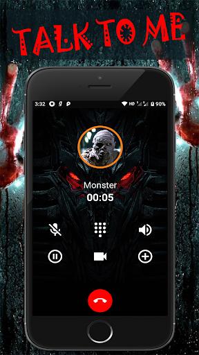 Scary Talk : Fake video call and chat prank  screenshots 3