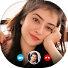 Girls Video Chat and Live Chat Video Call Dating app apk icon