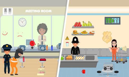 pretend play police officer prison escape sim screenshot 3