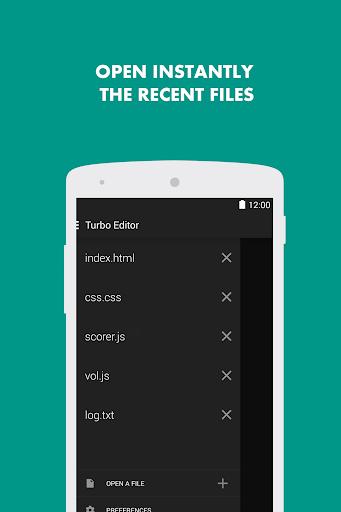 Turbo Editor // Text Editor  Screenshots 2