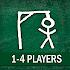 Hangman 1-2-3-4 Players
