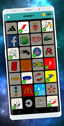 Logo Test: Français Quiz & Jeu, Devinez la Marque 2.4.8 screenshots 1