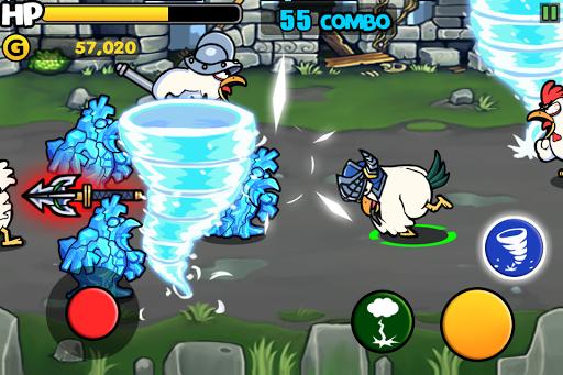 Chicken Revolution : Warrior screenshots 2
