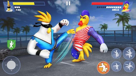 Kung Fu Animal Fighting Games: Wild Karate Fighter apk