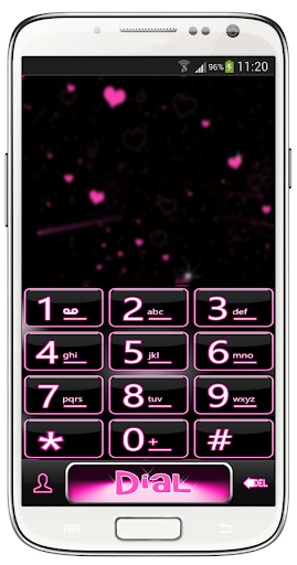 Neon Heart Theme for ExDialer For PC Windows (7, 8, 10, 10X) & Mac Computer Image Number- 5
