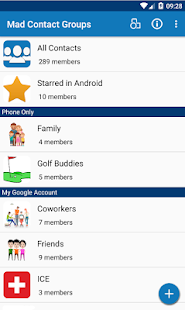 Mad Contact Groups
