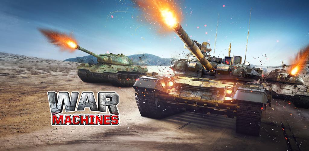 War Machines: Tank Army Game poster 0