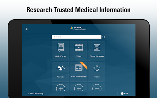 MSD Manual Professional  Screenshots 11