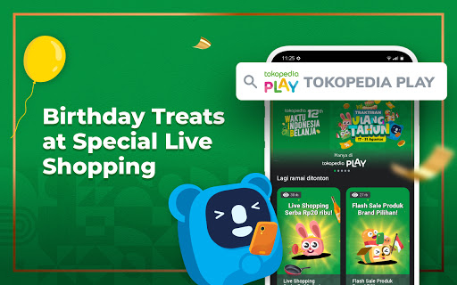 Tokopedia 12th Anniversary apktram screenshots 23