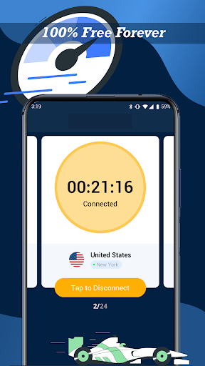 VPN Cloud - Free VPN WiFi Hotspot android2mod screenshots 4