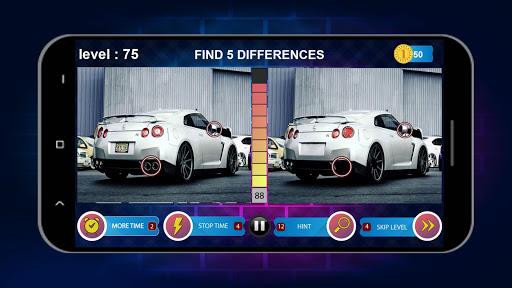 Spot 5 Differences 1000 levels 1.6.8 screenshots 4