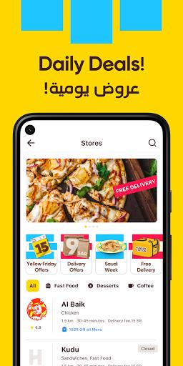HungerStation - Food, Groceries Delivery & More  screenshots 1