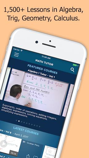 Math & Science Tutor - Algebra, Calculus, Physics  screenshots 1