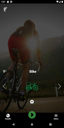 iBiker Cycling Tracking & Heart Rate Training screenshot 1
