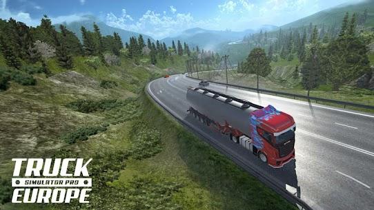 Truck Simulator PRO Europe (MOD APK, Paid/Money) v1.2 1