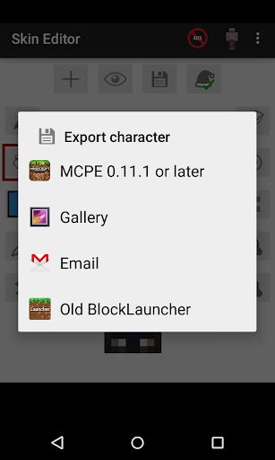 Skin Editor for Minecraft  Screenshots 6