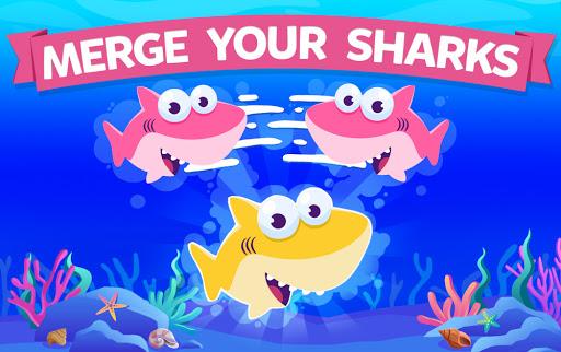 Merge Shark: Cute Fun Evolution Tap Doo  screenshots 5