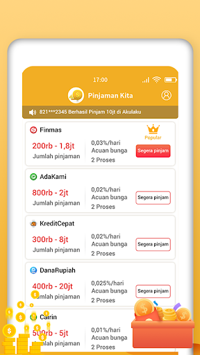 Pinjaman Kita – Aplikasi Pinjaman Online Langsung Cair Terprcaya