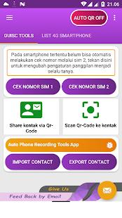 phone number check (Qr-code) : stats & Unregister 3.9 Qr-code pro smartphone APK screenshots 1