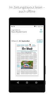 Der Bund E-Paper 5.5.1 screenshots 1