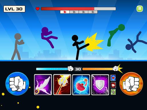 Stickman Fighter : Mega Brawl (stick fight game) 21 screenshots 1
