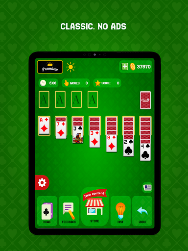 Classic Solitaire - Without Ads 2.2.21 screenshots 17