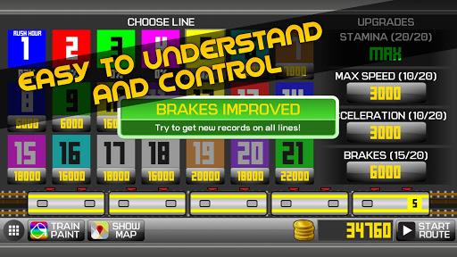 Subway Simulator 2D - city metro train driving sim apkpoly screenshots 8