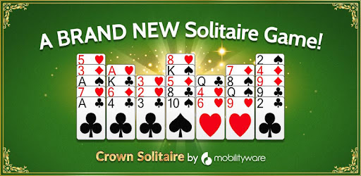 Screenshot of Crown Solitaire A New Puzzle Solitaire Card Game